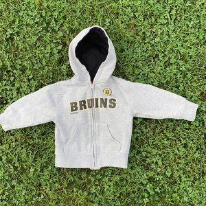 🏒 Boston Bruins Toddler Zip-up Sweatshirt